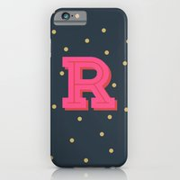 R is for Rad iPhone 6 Slim Case