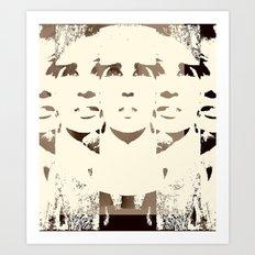 She's Remixed Art Print
