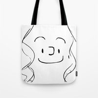 Harry's Face Tote Bag