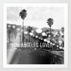 Los Angeles lover number 2 Art Print