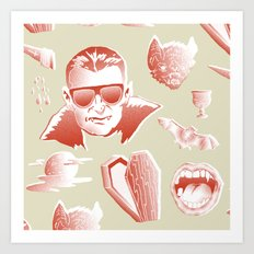 Vampcation Art Print