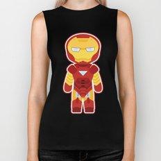 Chibi Iron Man Biker Tank