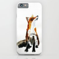 Woodland Fox (reverse edit) iPhone 6 Slim Case