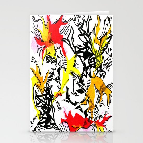 Dragons Stationery Card