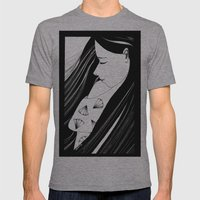 Sombre Mens Fitted Tee Athletic Grey SMALL