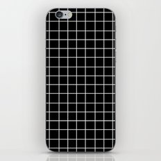 Grid (White/Black) iPhone & iPod Skin