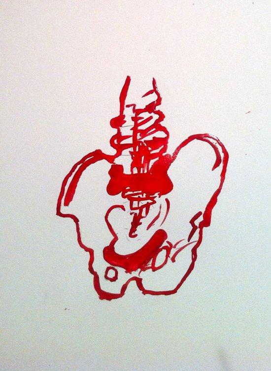 Spinal  Art Print