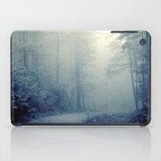 Wander in a Woodland Fog iPad Case