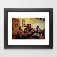 Just The Same. Framed Art Print