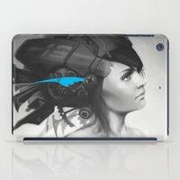 Feather Blue iPad Case