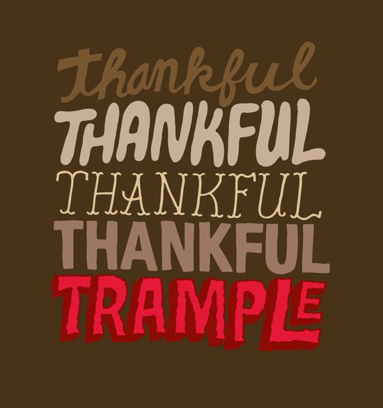 Thanksgiving, Black Friday Art Print