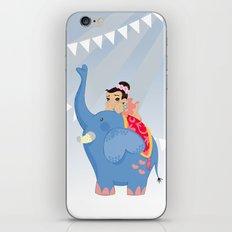 Blue Circus iPhone & iPod Skin