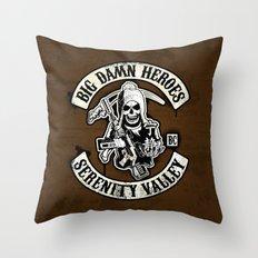Big Damn Heroes Throw Pillow