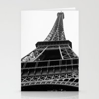 eiffel Stationery Cards featuring Eiffel by Angel Durán