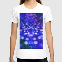 Abstract #2 Womens Fitted Tee White SMALL