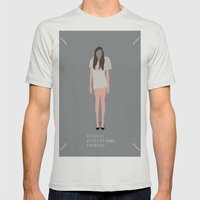 Maison Martin Margiela Aesthetic Mens Fitted Tee Silver SMALL