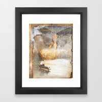The Sacred and the Mundane Framed Art Print