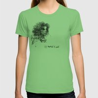 Involuntary Dilation Of … Womens Fitted Tee Grass SMALL