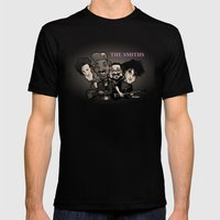 The Smiths (black version) Mens Fitted Tee Black SMALL