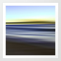 nuage vert - seascape no. 08 Art Print