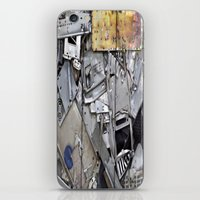 PIECESDETACHEES iPhone & iPod Skin