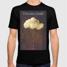 Im a cloud stealer Black Mens Fitted Tee SMALL