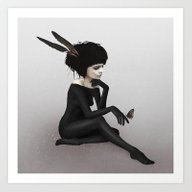 Art Print featuring Here Before by Ruben Ireland
