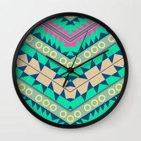 Electric Eye Wall Clock