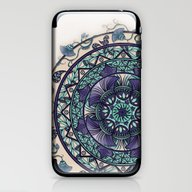 Morning Mist Mandala iPhone & iPod Skin