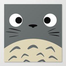 Curiously Troll ~ My Neighbor Troll Canvas Print