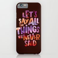 iPhone & iPod Case featuring All The Things by WEAREYAWN