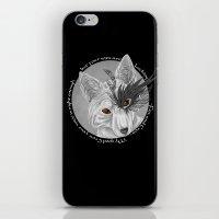 fox and crow  iPhone & iPod Skin