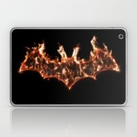 Bat On Fire Laptop & iPad Skin