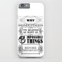 Alice In Wonderland Six … iPhone 6 Slim Case