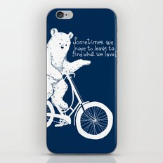 Listen to the Bear iPhone & iPod Skin