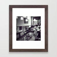 Breakfast in Amsterdam Framed Art Print