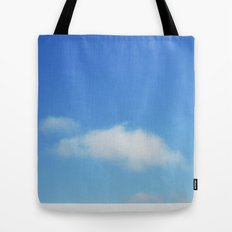 Snow and clouds in Iceland Tote Bag