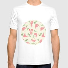 MUR´S SPRING White SMALL Mens Fitted Tee