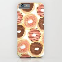 iPhone & iPod Case featuring Mmm, Donuts. by Bouffants and Broken Hearts