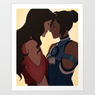Korrasami Is Canon Art Print