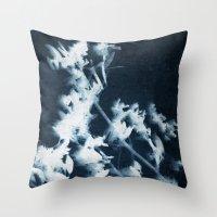 Botanical Series I Throw Pillow