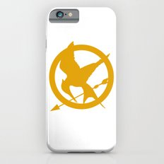 The MockingJay - Gold iPhone 6s Slim Case