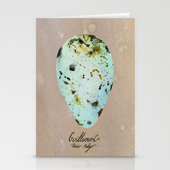 GUILLEMOT EGG Stationery Card