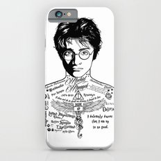 Harry Tattoo Potter iPhone 6 Slim Case