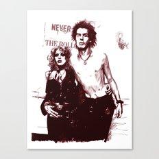 Sid and Nancy Canvas Print