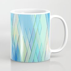 Re-Created Vertices No. 8 by Robert S. Lee Mug