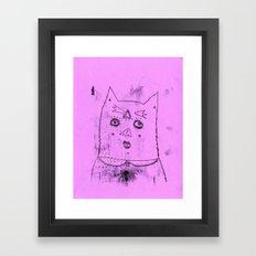 gato Framed Art Print