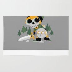 Skull Sword Guy Rug