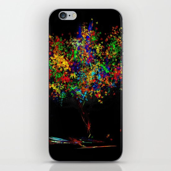 The Most Colorful Tree of the World iPhone & iPod Skin