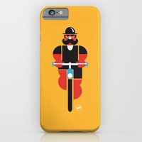 iPhone & iPod Case featuring Bicycle Man by Marco Recuero